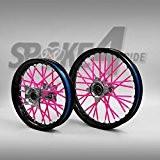 Couvre rayon - Rose Spoke Skins Protège rayon Motocross Enduro Jante Roue