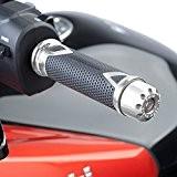 Embouts de Guidon Puig Yamaha T-max 530 12-14 court argent