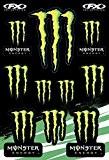Énergie Monster Effex FX 45x30 cm Autocollants Moto Velo Deco Big Monster Energy