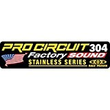 Exhaust sticker r-304 factory - dcfs304 - Pro circuit 18600639