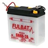 Fulbat - Batterie moto 6N4B-2A 6V / 4Ah