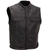 GILET CUIR BIKER SONS OF ANARCHY TAILLE L