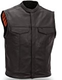 GILET CUIR SOA 762 Taille M