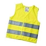 Gilet de haute visibilité Taille S / jaune fluo) pour enfants de 5–12ans