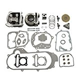 GOOFIT 100cc Big Bore Kit Performance GY6 50cc 139QMB Pièces Racing Scooter 50mm Bore