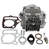 GOOFIT Ensemble Culasse complet cylindre moteur 110cc pour ATV Go kart et moto cross