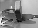 GZM Dossier pour Passager Arrière/Sissy Bar Porte-Bagages Noir Fixer à Démontage Rapide pour Harley Davidson Sportster XL 883 1200 Evolution ...