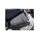 GZM Sacoche latérale pour cadres similaires aux Harley Sportster 48 Nighster et Iron