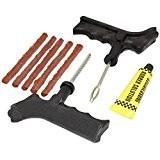 Hardcastle Kit de Réparation de Crevaison pour Pneus Sans Chambre a Air de Voiture/Moto & 5 Bandes de Réparation