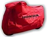 Honda Blackbird VFR800 CBR1100xx VFR750 Rouge housse de Protection Moto à L'interieur