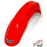 HONDA CR 125-250-CRF 450-00/03-GARDE BOUE AVANT NEUF UFO ROUGE-78102331