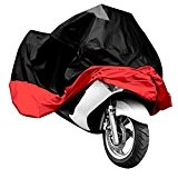HOUSSE BACHE MOTO Couvre-Moto VTT grande Taille XXXL rouge noir protection sportive modele ex.Harley