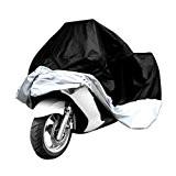 Housse de protection pour Moto Scooter résistante à l'eau/waterproof + Protection anti UV avec sac de rangement inclus - Couleur ...