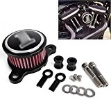 ICT Ronix CNC Filtre à air sport Système d'admission d'Filtre à air Filtre à air pour Harley Davidson Sportster xl883 ...