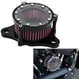 ICT Ronix Moto CNC Filtre à air sport filtre à air d'admission d'- Filtre pour Harley Sportster XL 88312002004-2015