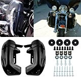 Iglobalbuy Vented Lower Leg Carénage Pour Harley Touring Road King Electra Glide FLHT FLHX