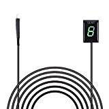Indicateur de Vitesse étanche pour Moto Affichage LED Plug & Play pour Honda (Vert)