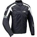 IXON - Blouson moto textile ALLOY noir gris XXXL