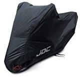 JDC Housse moto 100 % étanche - ULTIMATE HEAVY DUTY (Extra robuste, doublure souple, panneaux résistants à la chaleur, coutures ...