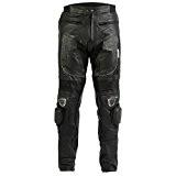 Jean/pantalon de moto - homme - cuir - sliders en métal - W44 L32