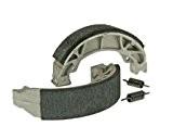 Jeu de mâchoires de frein à tambour Aramid renforcé avec ressort - Yamaha-Slider 50 AC (04-)
