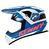KENNY - Casque Cross Track Bleu Noir L 59/60 Cm