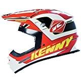 KENNY - Casque Cross Track Rouge Noir Xl 61 Cm