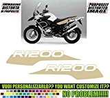 Kit adesivi decal stickers BMW R 1200 GS ADVENTURE WHITE SAND 2012 (ability to customize the colors)