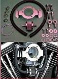 Kit Bouches D'aération Têtes X Filtre à Air pour Harley Davidson Sportster/883 1200 à Injection