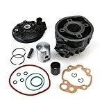 Kit cylindre Top Performances 50cc LC, Cylindre en fonte grise Minarelli AM 345/6 pour Aprilia Classic 50   Aprilia Europa ...