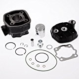 Kit cylindre Top Performances 50cc LC, Cylindre en fonte grise pour Derbi GPR 50 Racing PRED   Gilera GSM 50 ...