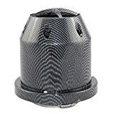 Kit filtre à air universel conique pour voiture Carbone Haute qualité