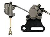 Kit frein arrière - Simple piston - Axe 12mm - Dirt Bike