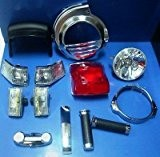 Kit Restauration des pièces détachées accessoires chromé pour vespa pX PE 125150200arc-en-ciel
