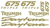 Kit stickers tuning Triumph Daytona 675 Triple Custom Moto Decals Stickers