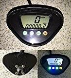 LCD Digital Odomètre Speedo compteur de vitesse Moto N Gear pour Honda Yamaha