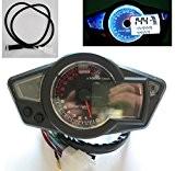 LCD Odomètre Tachymètre Speedo mètre Compteur Vitesse Moto vélo Scooter pour Yamaha