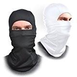 [Lot de 2] Cagoule Masque Tissu élastique-One Size Fits All-Protège du vent, du soleil, DE LA poussière,-Idéal pour moto, Masque ...