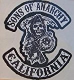 LOT DE 3 STICKERS SONS OF ANARCHY
