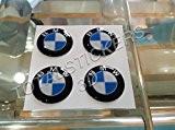 LOT DE 4 AUTOCOLLANTS 3D STICKERS RESINATI POUR MOTO GP LOGO BMW-SBK 2 cm