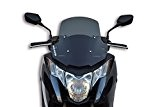 Malossi Spoiler Racing 4515621B Pare-brise pour Honda Integra 700 et 750