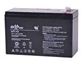 MaxPower bat0402 12V 7Ah Gel de batterie motos, quad, jouets, bateaux, caravanes, caisse, moteur
