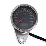 Mini compteur 60 mm K=1,0 pour Harley-Davidson® et motos customs