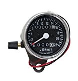 Mini compteur avec compteur kilométrique journalier 60 mm K=1,4 pour Harley®