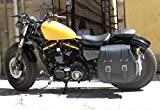 monoborsa Sacoche latérale du col de cygne Amortisseur côté gauche Big grand x moto harley davidson sportster xL 883120048Nightster Iron ...