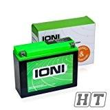 Moto Batterie 12V 16Ah AGM CASTIGLIONI Ion (A2) de type mg-A2/yb16al 16al