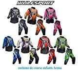 moto enfants course costume WULF ENFANTS ARENA COSTUME nouvelle motocross quad de style 2016 ATV MX du sport junior de ...