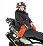 Moto siège enfant Honda Forza NSS 300 Givi S650 noir