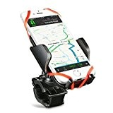 Mpow Support Vélo du Guidon, Universel Support fixation Support Téléphone Rotatif à 360, Sécurité parfaite, Facile à installer, pour iPhone ...