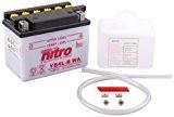 NITRO YB4L-B WA -N- Batterie Moto Ouvert avec Pack Acide